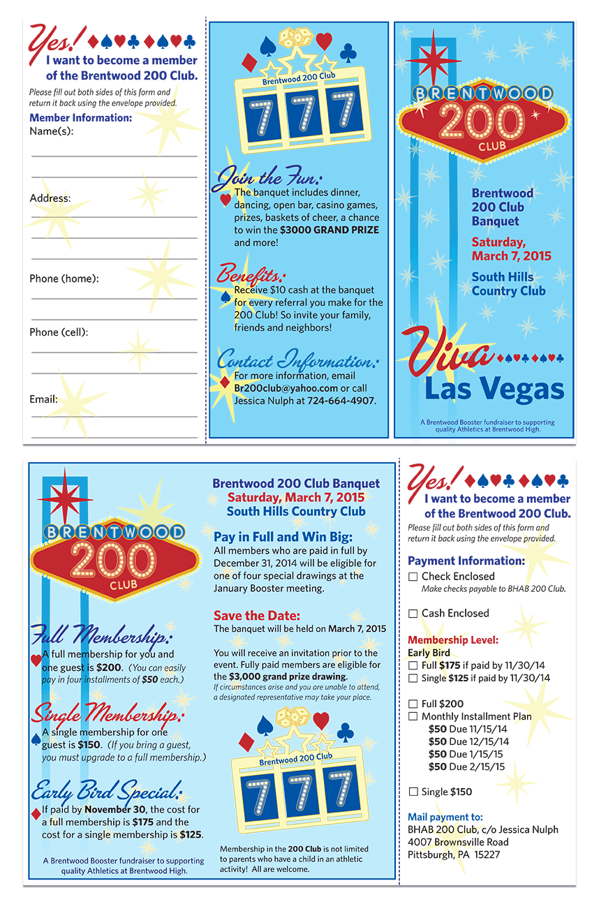 2015 Trifold Membership Form