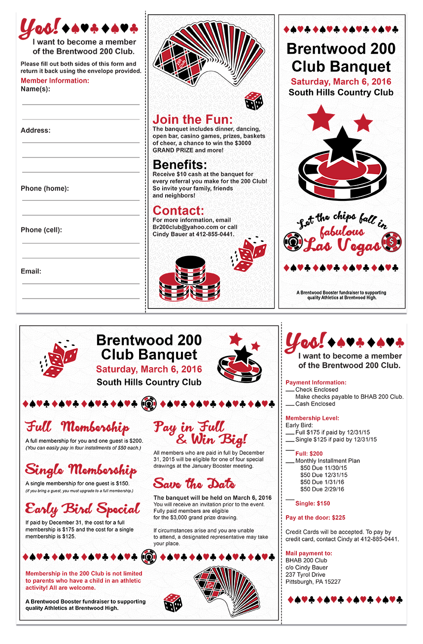 2016 Trifold Membership Form