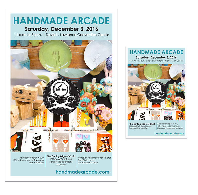 2016 Handmade Arcade Save the Date