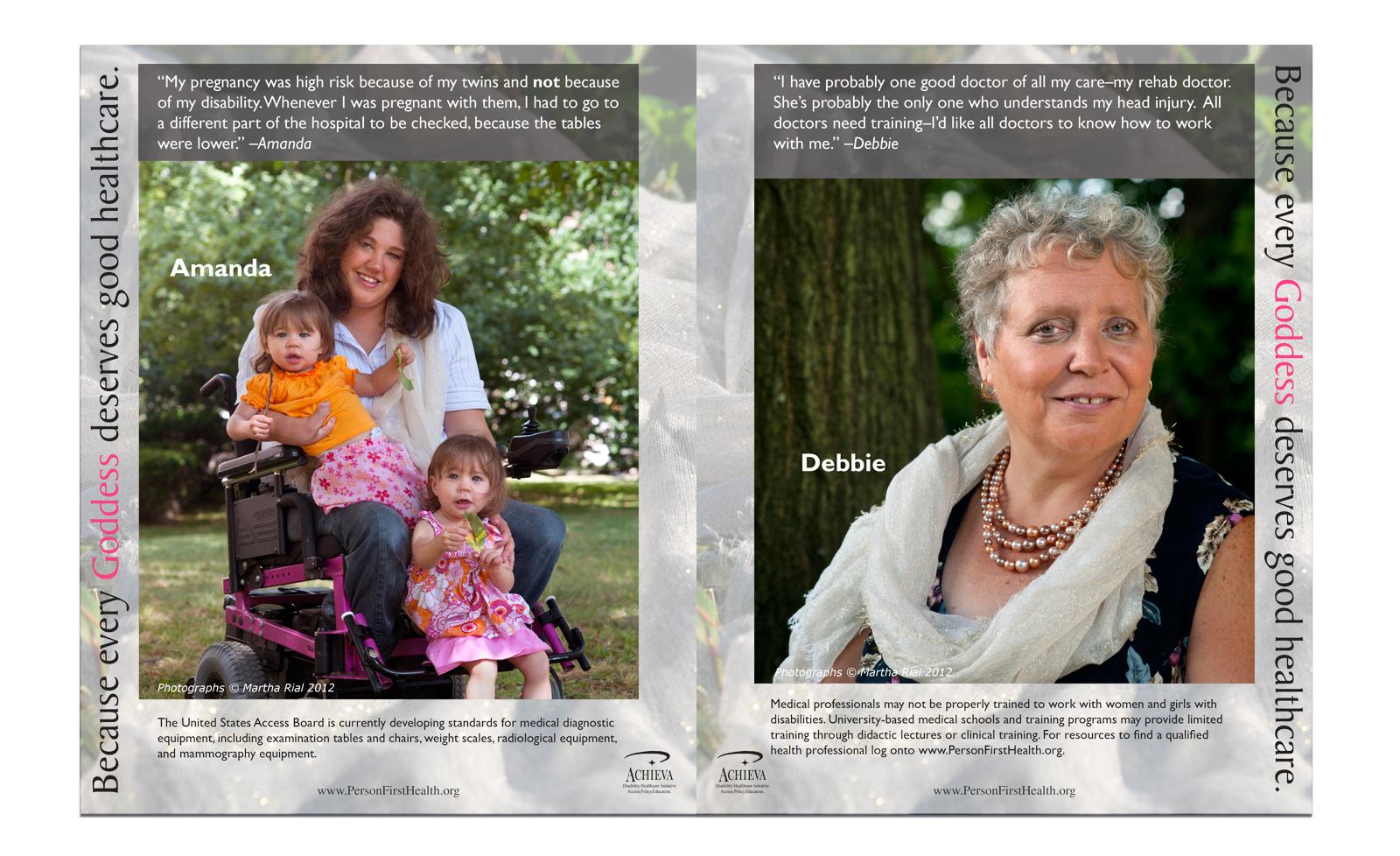 Goddess booklet sample spread 1