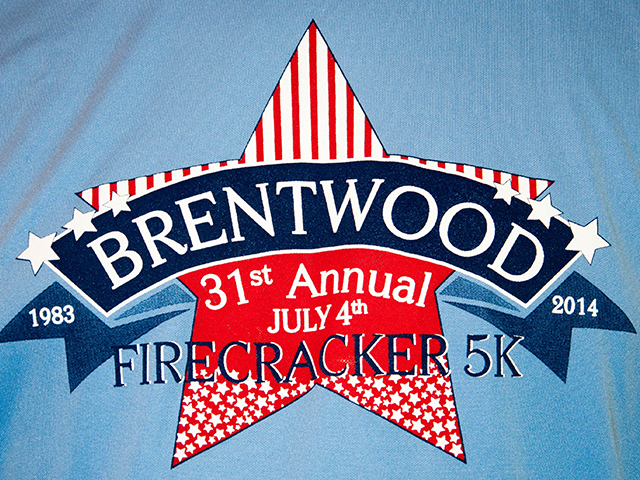 Brentwood 5K Logo